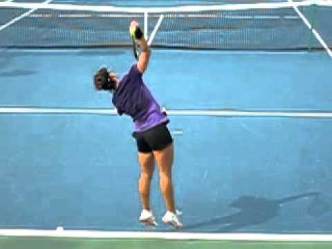 Super Slow Mo Serve WTA Pro