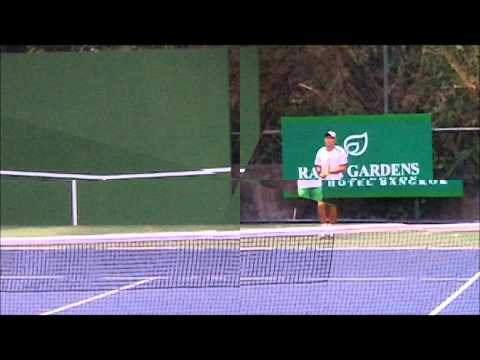 how to hit the pro forehand pt 2 shoulder rotation