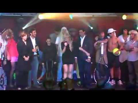 Milos, Rafa, Andy Murray, Vika, Redfoo and Pico do the harlem shake!