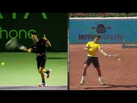 Use the Butt and not the Head like Federer Djokovic Nadal & Murray!