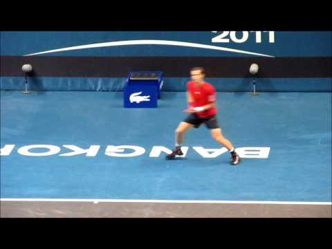 How to Return Serve HArder and Play Defense like Andy Murray