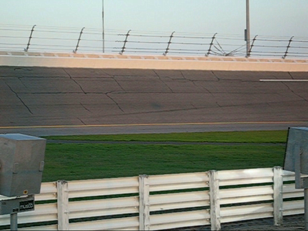 Turn 2 at Daytona