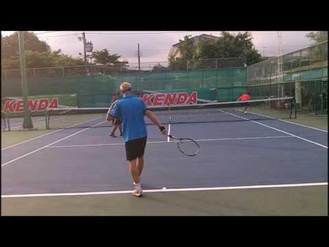 Saithip Fun Doubles:  G/Pete vs Kean/As August 2017