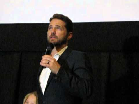 Director/ Actor Jason Priestly talks at PBIFF 2014