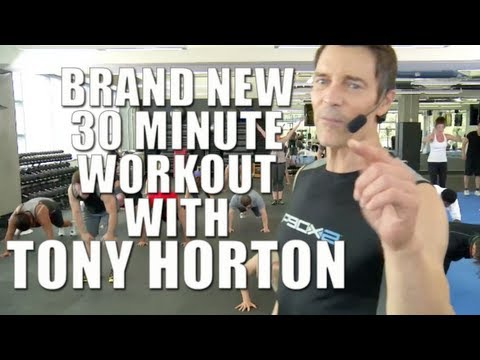 Free workout with Tony Horton creator of P90X, P90X2 and 10 Minute Trainer - Beachbody LIVE