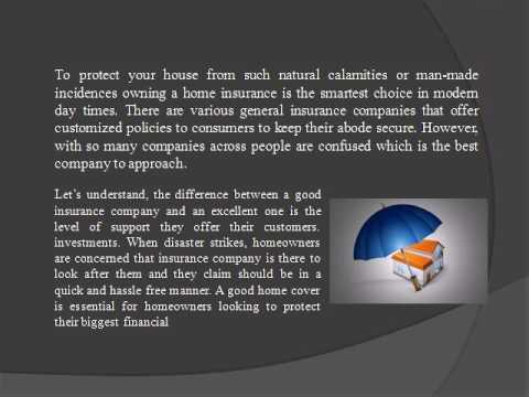 """Home Insurance"" is the best way to protect & secure your abode"
