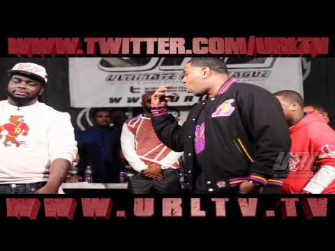 SMACK/ URL PRESENTS AYE VERB vs O-RED