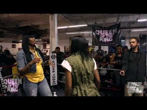 """VAGUE & BABS: """"QUEEN OF THE RING""""  MS HUSTLE vs QB BLACK DIAMOND 