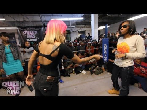 BABS BUNNY & VAGUE presents QUEEN OF THE RING DON LADYII vs QB BLACK DIAMOND