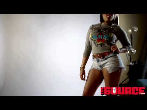 Vh1 Love And Hip Hop Lorel Photoshoot/Interview For TheSource.Com