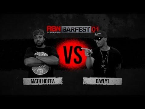Math Hoffa vs Daylyt (Full Battle) - BarFest 01