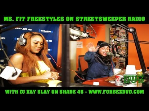 Ms. Fit Freestyles On Streetsweeper Radio With DJ Kay Slay