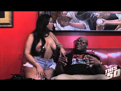 EYE CANDY Lena Chase Talks Sex; Guys She is Into; Funny 50 Cent Story