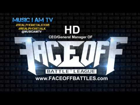Faceoff Battle League CEO/General Manager (HD) Interview on MUSIC I AM TV