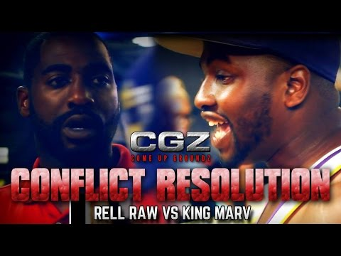 QUEENZFLIP - COME UP GROUNDZ: RELL RAW VS KING MARV HOSTED BY LOTTA ZAY (@DJGMONEY)