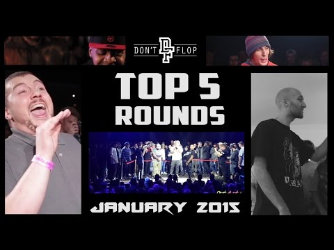 DON'T FLOP: Top 5 Rounds | January 2015