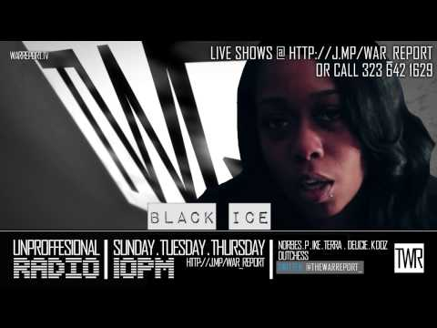 BLACK ICE TALKS T REX VS DANNY MYERS & QP'S PERFORMANCES