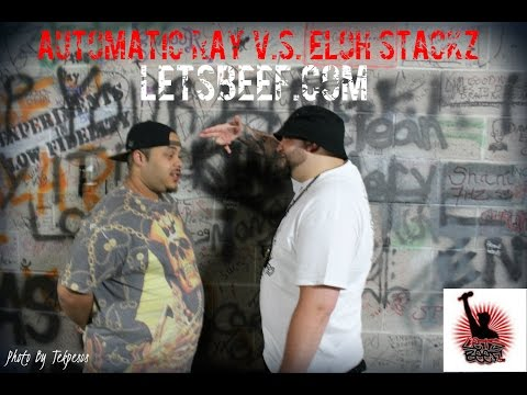 Automatic Ray vs Eloh Stackz - LetsBeef.com Rap Battles