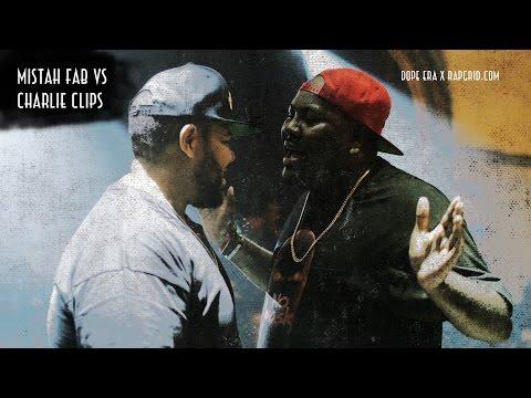 Charlie Clips vs Mistah F.A.B. | Rap Grid & Dope Era's No Mask | Rap Battle
