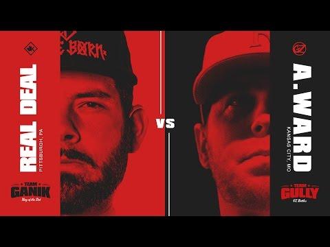 KOTD - Rap Battle - Real Deal vs A. Ward | #GvG