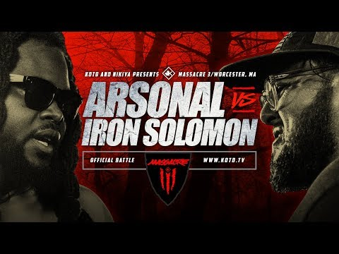 KOTD - Arsonal vs Iron Solomon | #MASS3