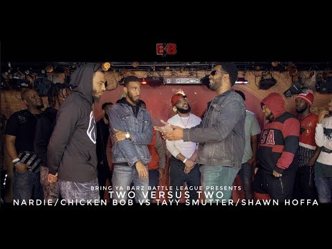 Tayy Smutter/Shawn Hoffa versus Nardie/Chicken Bob - Bring Ya Barz Battle League - Tension 2