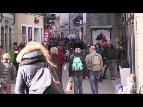 Salzburg -  Getreidegasse und Umgebung