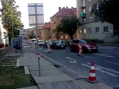 Deutschordenstraße, Verkehr wg. Umleitung 31.7.2015