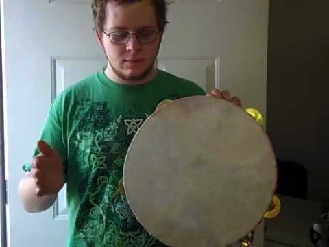 King Size Minstrel Tambourine from Bell & Son Banjos