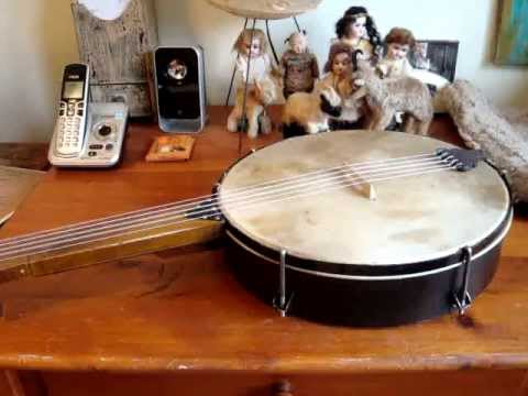 Right out of the box... Stichter minstrel banjo by Bell Banjos