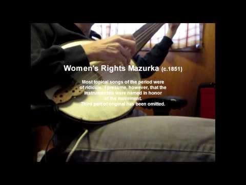 Women's Rights Mazurka (1851)