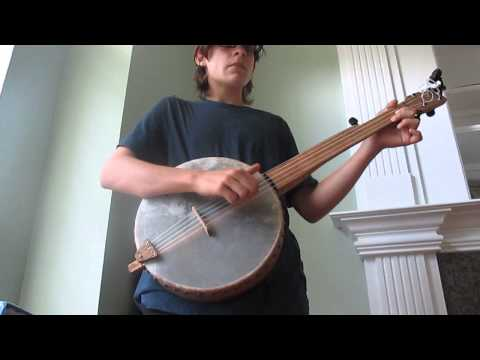 Old Dan Tucker ~ Stroke Style Banjo (1st Attempt!)