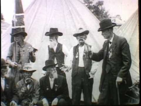 Confederate Veterans Convention (1914 SILENT FILM)