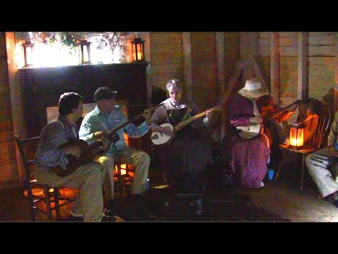 Silver Lake Waltz at the Sweeney cabin, Appomattox VA