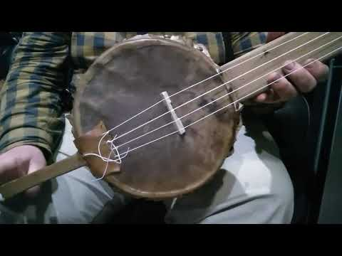 Old Dan Tucker On Early Gourd Banjo.
