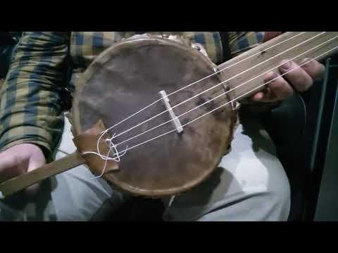 Old Dan Tucker On Early Gourd Banjo.