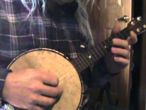 Injun Rubber Overcoat on a Banjo Uke