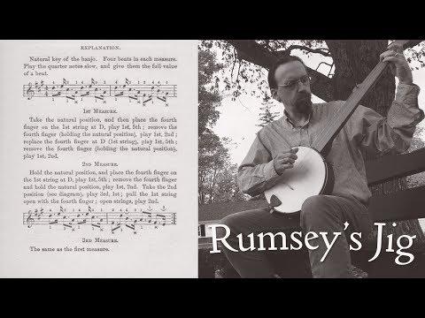 Rumsey's Jig - Stroke Style Fretless Banjo