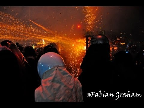 Most Dangerous Firework Festival in the World 2012 鹽水蜂炮, 第1天 - 2012 Yan Shui Feng Pao
