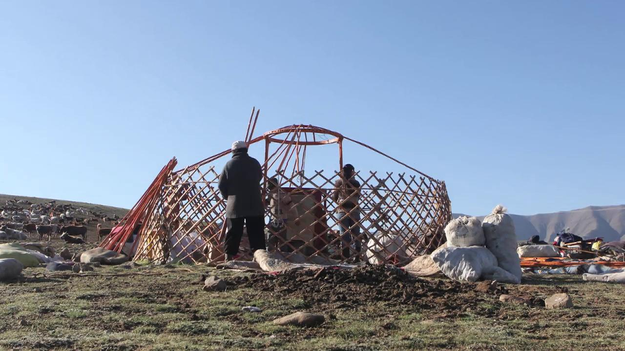 Moving Day in Mongolia