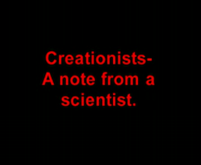 MUST see for creationists