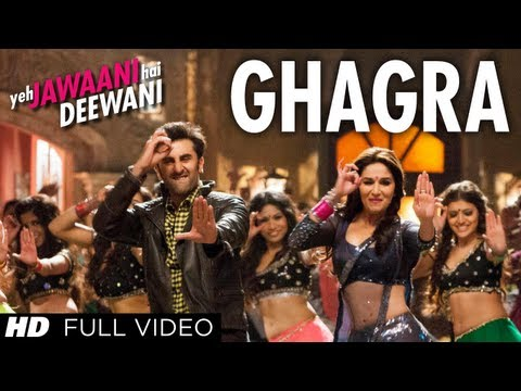 Ghagra Yeh Jawaani Hai Deewani Full HD Video Song | Madhuri Dixit, Ranbir Kapoor