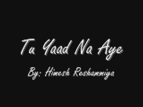 Tu Yaad Na Aye... Full Song by Himesh Reshammiya