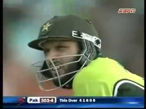 Shahid Afridi 77 off 34 balls vs South Africa best