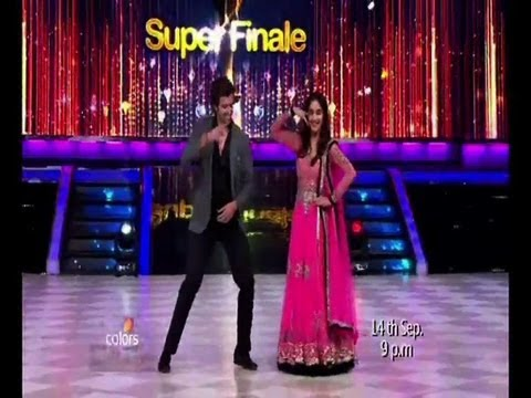 Hrithik dances with Madhuri