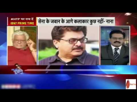 Om puri insulted Indian army on national television