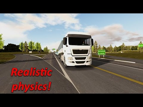 Heavy Truck Simulator Real Graphics Game Play HD 2017