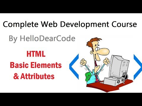 HTML Basic Elements and Attributes - HelloDearCode