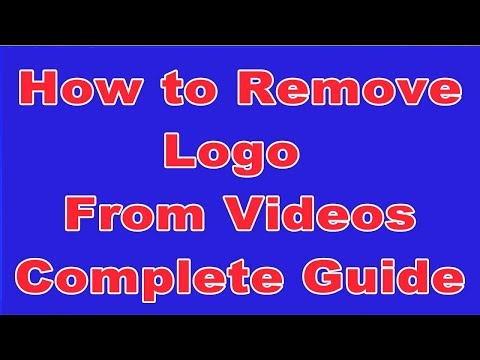 How to Remove Logo From Video | Remove logo from video  | Sony vegas | water mark