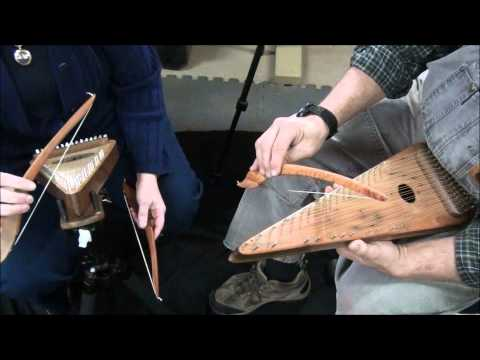 Gentle Maiden - Tenor Bowed Psaltery Duet